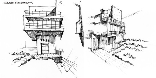 Architecture interieur design for Esquisse architecture